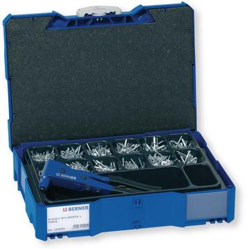 boxe coffre coffret composition BERACLIC+ boîte 148673 BERACLIC assortiment sortimo